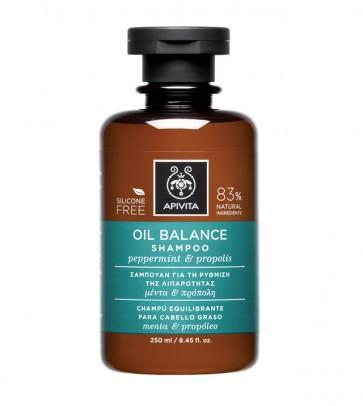 Šampon za masnu kosu i vlasište s mentom i propolisom