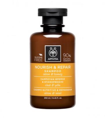 Šampon za njegu i obnovu kose s maslinom i medom