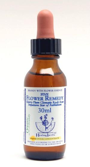 Bachove kapi 30ml - 5 Flower cvjetna esencija dr. Bach