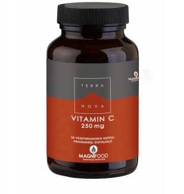 Terranova Vitamin C 250mg (nekiseli oblik)