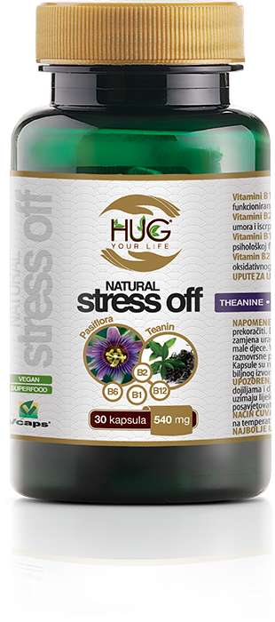 Hug your life - NATURAL STRESS OFF