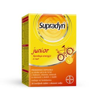 Supradyn Junior tablete za žvakanje