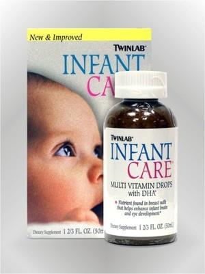 Infant Care s DHA - tekućina - TWINLAB