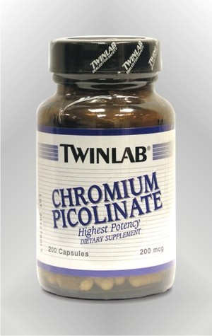 Krom pikolinat - kapsule - TWINLAB