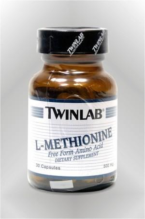 L-Metionin - kapsule - TWINLAB