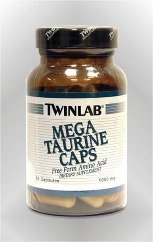 Mega Taurin - kapsule - TWINLAB