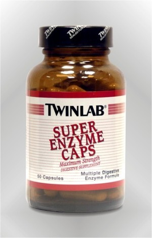 Super enzim - kapsule - TWINLAB