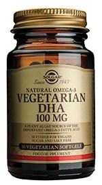 Solgar Vegetarijanska DHA 100 mg