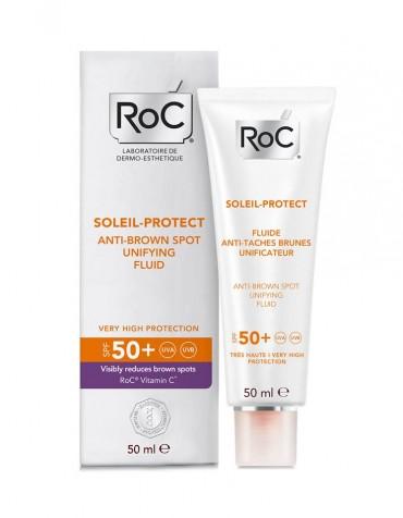 RoC Soleil fluid protiv tamnih mrlja SPF 50+