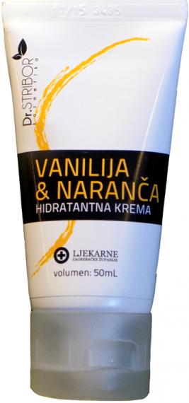 Dr. Stribor Hidratantna krema - vanilija i naranča