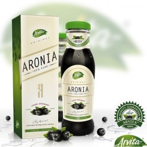 Arvita Aronija sok