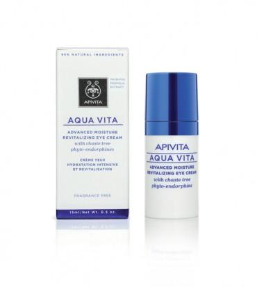 AQUA VITA 24h hidratantna i revitalizirajuća krema za područje oko očiju - APIVITA