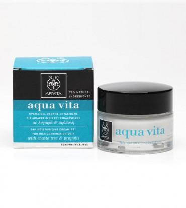 Apivita Aqua Vita 24h krema s konopljikom i propolisom