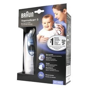 Braun Thermoscan 5 - ušni toplomjer 4520