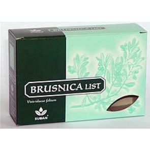 Suban Čaj brusnica list