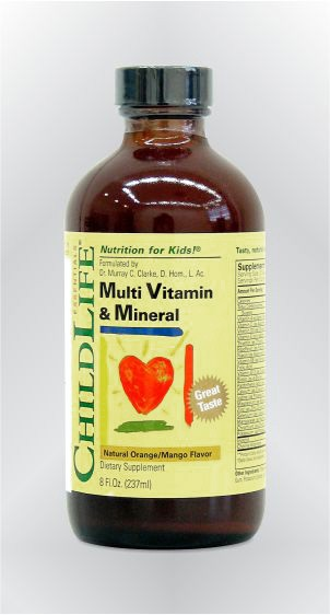 Multivitamini i minerali - tekući - CHILDLIFE
