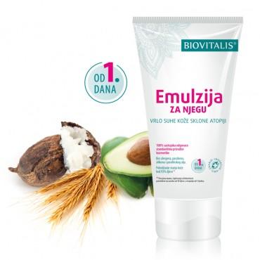 Biovitalis Emulzija za njegu vrlo suhe kože