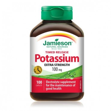 Jamieson Kalij - Extra strong potassium 100mg