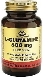 Solgar L-glutamin 500 mg