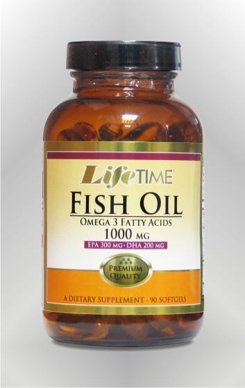 Riblje ulje - omega-3 - LIFETIME