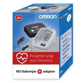 Omron M3 digitalni tlakomjer + adapter