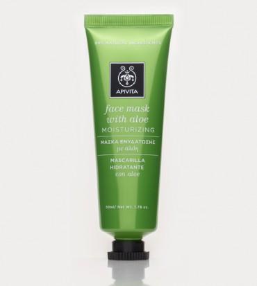 Maska za lice za hidrataciju s aloe verom - APIVITA