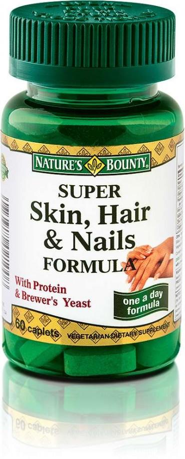 Super Skin, hair and nails - Nature's bounty