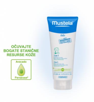 Mustela 2u1 šampon za pranje kose i tijela