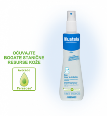 Mustela toaletna vodica za osvježenje kože