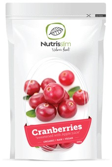 Bio Brusnice zaslađene jabučnim sokom - Nutrisslim