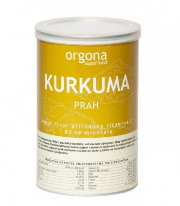 KURKUMA PRAH - Orgona Superfood
