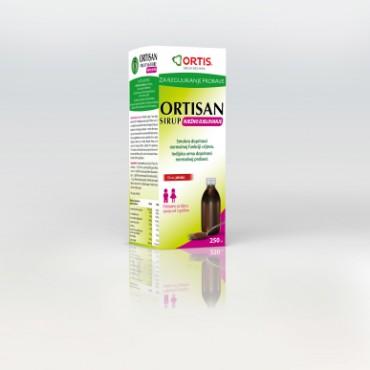 Ortisan sirup - Ortis