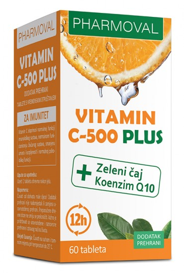 Vitamin C-500 Plus - Pharmoval