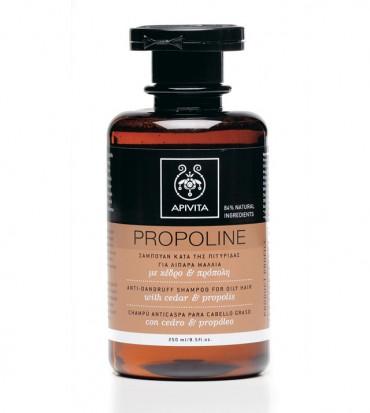 Apivita Propoline šampon protiv prhuti za masnu kosu s cedrom i propolisom