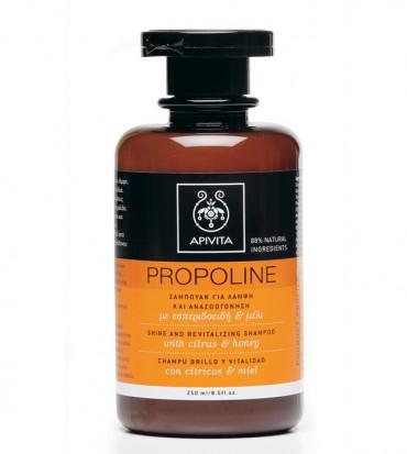 Apivita Propoline šampon za sjaj i revitalizaciju s citrusom i medom