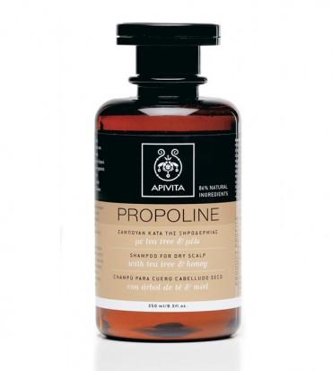 Apivita Propoline šampon za suho tjeme s medom i čajevcem