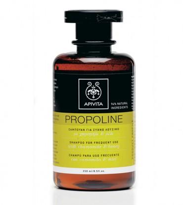 Apivita Propoline šampon za učestalu upotrebu s kamilicom i medom