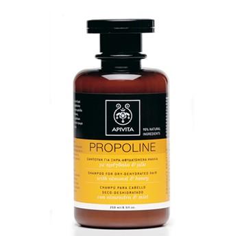 Apivita Propoline šampon za suhu-dehidriranu kosu s bademom i medom