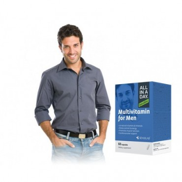 Sensilab ALL IN A DAY Multivitamin for Men