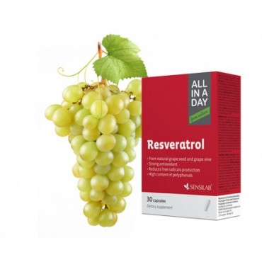 Sensilab ALL IN A DAY Resveratrol