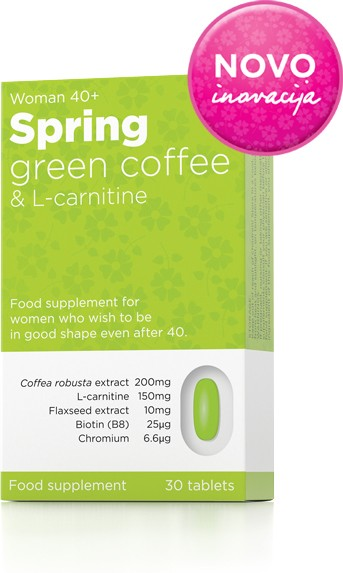 Spring Green cofee + L-carnitine