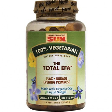 Total EFA 100% vegetarian - Health from the sun
