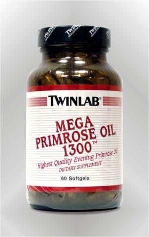 Mega Primrose Oil - kapsule - TWINLAB