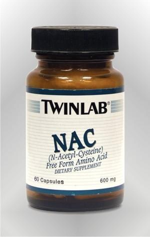 N-Acetil Cistein - kapsule - TWINLAB