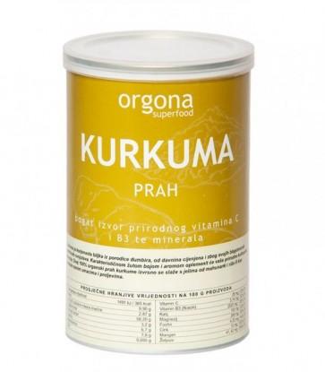 KURKUMA PRAH - Orgona Superfood