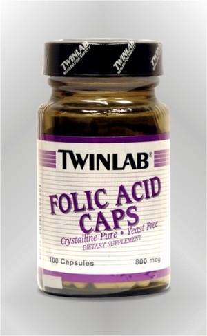 Folna kiselina - kapsule - TWINLAB