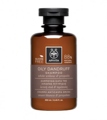Šampon za masnu prhut s bijelom vrbom i propolisom