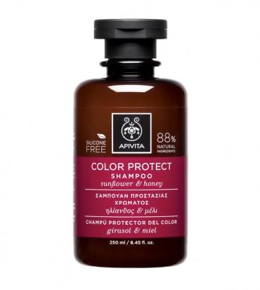 Šampon za obojanu kosu sa suncokretom i medom - APIVITA