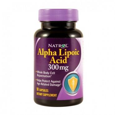 Natrol - Alpha Lipoic Acid 300 mg (alfa lipoična kiselina)