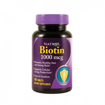 Natrol - Biotin 1000 mcg